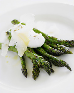 asparagus poached egg cafe juanita seattle Cafe Juanita Chef Holly Smith   Interview v. 2