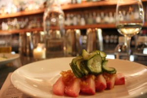 rockcreek Hamachi Crudo seattle 300x200 RockCreek Chef Eric Donnelly   Interview v. 11