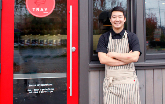 Tray Kitchen's Chef Heong Soon Park